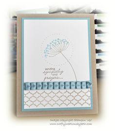 Crafty Creations by Beth: A CASE'd Sympathy Card