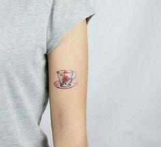 Sweet Rose Teacup limited edition temporary tattoos artist Amanda Whitelaw