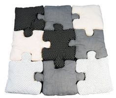 Puzzle Pillows | Kids' Furniture That Really Should Come In Adult Sizes