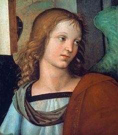 (Raphael) Raffaello Santi - Raphael / Angel / c.1500