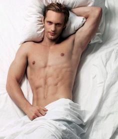 """Via Alma Pereira: """"You know how awesome Chase looks on the Never Judge A Lady cover? I imagine her looming over him in bed like this in JUST that fashion. Naturally, he enjoys ceding control every once in a while....."""""""