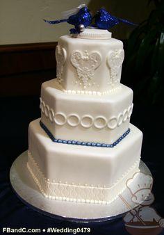 wedding cakes, hexagon, custom quot