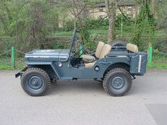 138 UXM - 1947 Willys CJ2A RAF Jeep by homer----simpson, via Flickr
