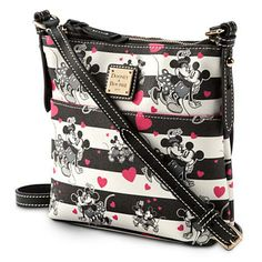 Mickey and Minnie Mouse Sweethearts Letter Carrier Bag by Dooney & Bourke