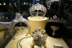 Several Boucheron pieces--certainly the Art Deco number and the rose brooch, which was Princess Mathilde Bonaparte's.
