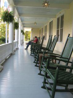 Balsam Mountain Inn, Balsam, NC  Sept 2012
