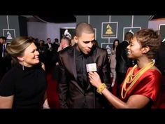 J. Cole on the Red Carpet at 54th GRAMMY Awards
