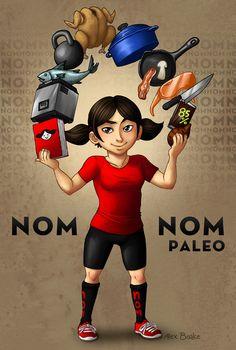 Nom Nom Paleo Portrait by Alex Boake http://nomnompaleo.com