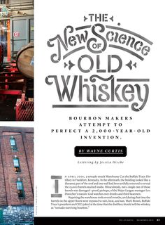 Jessica Hische - The New Science of Old Whiskey