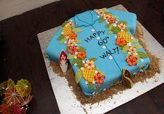 great cake--Hawaiian shirt cake
