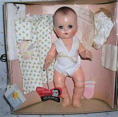vintag, toy, childhood memories, rememb, betsi wetsi, 1950, betsie wetsie, thing, wetsi doll