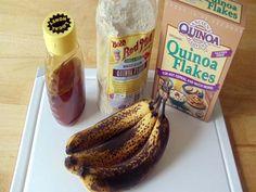 Banana Quinoa Muffins