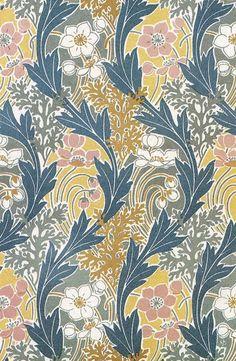 More art nouveau pattern designs by René Beauclair