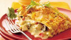 Mexican Chicken-Sour Cream Lasagna