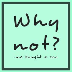 We Bought A Zoo Quotes Tumblr