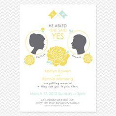 Say Yes Invitation