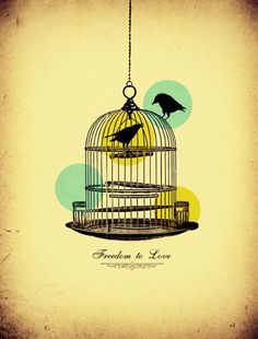 Freedom to Love  A beautiful illustration by Willian Sanfer.