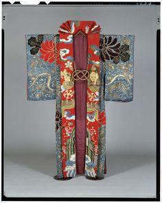 Kubuki robe.  Edo period, Japan