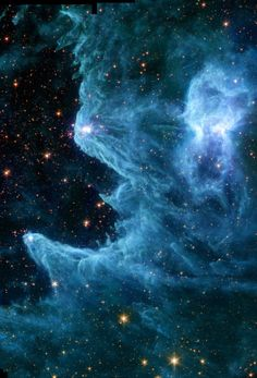 heaven, nebulas, univers, star, ghost nebula