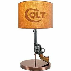 Colt Revolver Lamp - Gifts for Gun Nuts