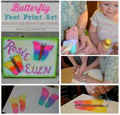 Butterfly feet canva