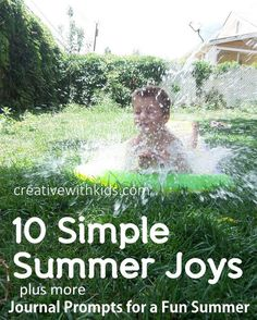 Simple Summer Joys – Journal Prompts for a Fun Summer