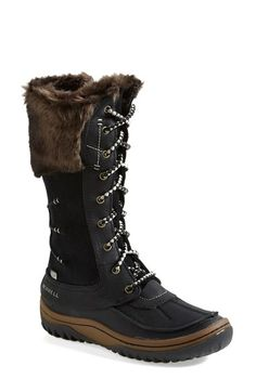 Free shipping and returns on Merrell 'Decora Prelude' Waterproof Boot (Women) at Nordstrom.com. A plush faux-fur cuff tops a commanding waterproof boot that features M-Select WARM insulation to keep your feet cozy in wintry weather. The M-Select GRIP provides durable traction when you need it, and flexible M-Select MOVE technology adds performance cushioning for all-day comfort. $199