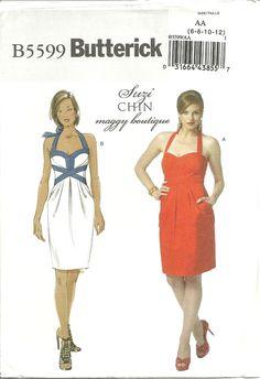 Sewing Project #22: Girls Halter Dress Pattern – Drape It!