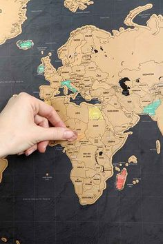 Loving this scratch-off world map! http://rstyle.me/n/kqgxmnyg6