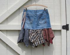 How To Make Upcycled Clothing | Sorry, this item sold. Have ShabyVintage make something just for you ...