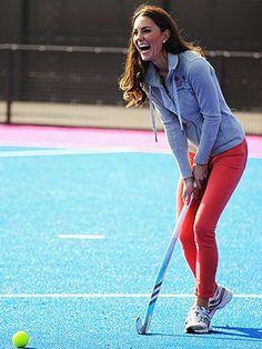 princesses play field hockey