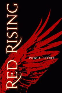 Red Rising by Pierce Brown {Review by The Baking Bookworm}. This is the first book in a new young adult, dystopian series.  Fans of The Hunger Games and Divergent will probably love this book. #ya #dystopian