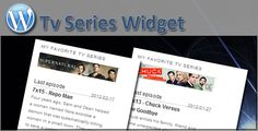 Tv Series Widget   http://codecanyon.net/item/tv-series-widget/1621626?ref=damiamio       This widget allows you to display when the next episode of your favorite series will air. The data is collected from thetvdb database.   The script will only do one api call per day and store all data in the database to speed up the script.   Selecting new series has been made very easy by adding a custom admin page.   All styling is done via an external css file so the widget can be edited very easy.   The latest version also includes support for shortcodes. You can use the shortcode 'tvseries'. In between the tags you type the name of the series you want to display. The option 'episode' is used to pick what episode will be displayed. The possible options are 'last', 'next' and 'both'. For example, to display the last episode of supernatural you use: [tvseries episode=last]supernatural[/tvseries].   An example can be found here.  Changelog         11 feb 2013             Solved the problem with spaces in series name                18 aug 2012             re-wrote javascript        added more feedback                02 mar 2012             Added shortcode support                20 feb 2012             Initial release              Created: 20February12 LastUpdate: 11February13 CompatibleBrowsers: IE6 #IE7 #IE8 #IE9 #IE10 #Firefox #Safari #Opera #Chrome SoftwareVersion: WordPress3.5 #WordPress3.4 #WordPress3.3 #WordPress3.2 #WordPress3.1 #WordPress3.0 HighResolution: Yes FilesIncluded: JavaScriptJS #HTML #CSS #PHP Tags: date #easy #episode #episodes #favourite #live #multiple #serie #series #television #tv #widget #wordpress #CODECANYON