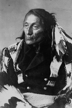 Chief of the Mt. Cree Nation, 1887