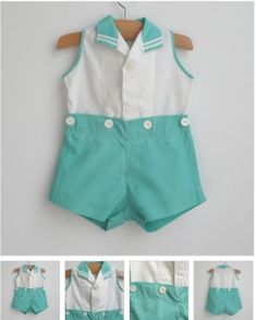 OMG! this is Cute! Vintage baby in Mint green #baby #photography #clothes