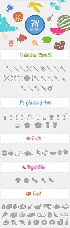 Free Food Icons Set
