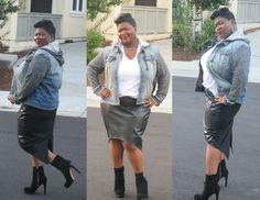 Mimi G Leather Skirt Tutorial