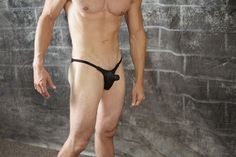 Swimwear for men get's very exciting when you add a male form pouch to the design. This style offers a micro male pouch which allows men of any size to fill it and look hot!