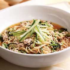 Brothy Chinese Noodles Recipe