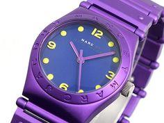 Marc Jacobs Watch Purple Yellow
