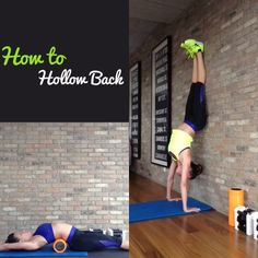 Step by Step guide on HOW TO DO a Hollow Back!!! Finally!! #yoga #handstand #hollowback yoga handstand, handstand hollowback