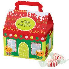 House Favor Box Gingerbread Themed by Wilton 415-0315