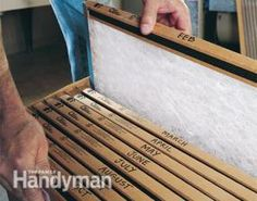 Save up to $60 a year by changing your furnace filter every month!