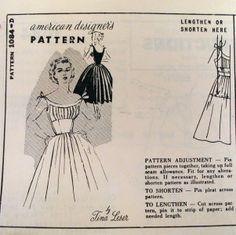 tina leser images | 1950s Tina Leser Party Dress