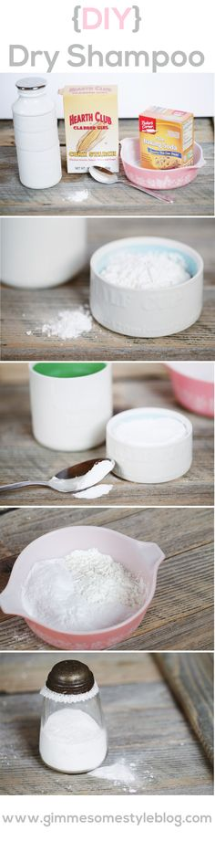 DIY Dry Shampoo | gimmesomestyleblog.com #dryshampoo #beauty #diy #hair #homemade