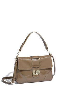 Sondra Roberts Patent Leather Shoulder Bag available at Nordstrom