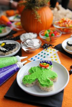 Make Your Own Monster Halloween Party from addapinch.com