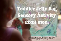 Easy and Cheap sensory activity for toddlers