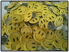 Chapas #Smile, #Badges, #CheapBadges