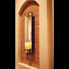 decor rate, wall niche decorating, nich idea, decorating ideas, backgrounds, foyer idea, hous, candl, hallway